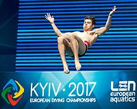 CRISTOFORI Adriano Rusla ITA<br /> 3m Springboard Men Preliminary<br /> LEN European Diving Championships 2017<br /> Sport Center LIKO, Kiev UKR<br /> Jun 12 - 18, 2017<br /> Day05 16-06-2017<br /> Photo © Giorgio Scala/Deepbluemedia/Insidefoto