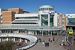 Great Britain, Hampshire, Southampton: Exterior of West Quay Shopping Centre
