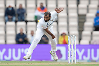 Mohammad Shami, India in bowling action during India vs New Zealand, ICC World Test Championship Final Cricket at The Hampshire Bowl on 22nd June 2021