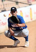 Antonio Gomez participates in the MLB International Showcase at Estadio Quisqeya on February 22-23, 2017 in Santo Domingo, Dominican Republic.