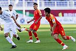 Wu Xi of China (C) looks on during the AFC Asian Cup UAE 2019 Group C match between China (CHN) and Kyrgyz Republic (KGZ) at Khalifa Bin Zayed Stadium on 07 January 2019 in Al Ain, United Arab Emirates. Photo by Marcio Rodrigo Machado / Power Sport Images