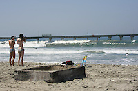 22March2008: Ocean Beach, California, USA. San Diego Police issued mug shots of two suspects in the beating of an Australian tourist at the end of Abbot Street in OB.  The tourist was beaten with a skateboard and thrown in a fire pit where he sustained serious burns.