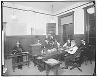 UNITED PRESS. MUNSEY BUILDING, INTERIOR<br />  1 January 1905