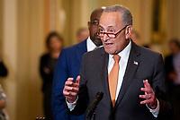 Democratic Senators luncheon press conference