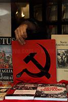 21.01.2021 - PCI Partito Comunista Italiano (Italian Communist Party) Centenary In A Bookshop Window