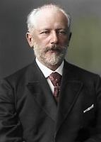 Русский композитор Петр Ильич Чайковский, 1888 год / Russian composer Pyotr Ilyich Tchaikovsky, 1888