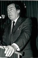 Montreal (QC) Canada- April 25 1988 File Photo - Canadian Club - Montreal (QC) Canada- April 25 1988 File Photo - Canadian Club -  - Edgar Bronfman