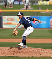 Gerardo Reyes - San Diego Padres 2019 spring training (Bill Mitchell)