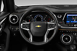 Car pictures of steering wheel view of a 2020 Chevrolet Blazer Premier 5 Door SUV Steering Wheel