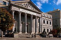 Spanien, Cortes (Parlamentsgebäude) in Madrid