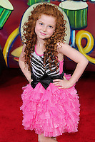 """HOLLYWOOD, LOS ANGELES, CA, USA - MARCH 11: Francesca Capaldi at the World Premiere Of Disney's """"Muppets Most Wanted"""" held at the El Capitan Theatre on March 11, 2014 in Hollywood, Los Angeles, California, United States. (Photo by Xavier Collin/Celebrity Monitor)"""