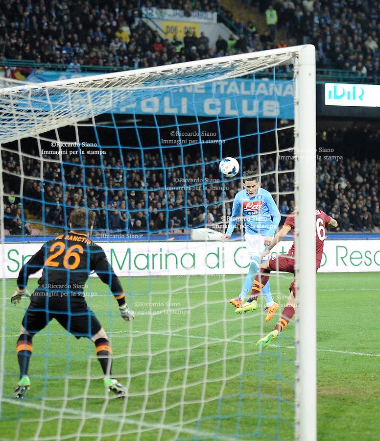 - NAPOLI 9 MAR  -  Stadio San Paolo    Napoli - Roma<br />  gol di callejon