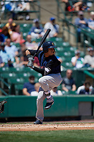 Scranton/Wilkes-Barre RailRiders third baseman Cito Culver (0) bats during a game against the Rochester Red Wings on June 7, 2017 at Frontier Field in Rochester, New York.  Scranton defeated Rochester 5-1.  (Mike Janes/Four Seam Images)
