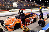 #96: Daniel Suarez, Gaunt Brothers Racing, Toyota Camry ARRIS now CommScope pit stop
