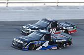 #4: Raphael Lessard, Kyle Busch Motorsports, Toyota Tundra SiriusXM #18: Christian Eckes, Kyle Busch Motorsports, Toyota Tundra Safelite AutoGlass