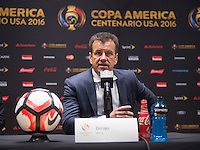 Foxborough, MA - June 12, 2016: Peru defeated Brazil 1-0 during the group stage of the Copa America Centenario at Gillette Stadium.