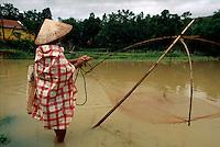 Fischer bei Phu Phong, Vietnam