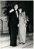 Brian et Mila   Mulroney<br /> , le 8 septembre 1984<br /> <br /> PHOTO :  Agence Quebec Presse