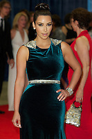 WASHINGTON, DC - APRIL 28: Kim Kardashian attends the 2012 White House Correspondents Dinner at the Washington Hilton Hotel in Washington, D.C  on April 28, 2012  ( Photo by Chaz Niell/Media Punch Inc.)