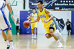Fong Shing Yee #22 of Winling Basketball Club dribbles the ball up court against the Eastern Long Lions during the Hong Kong Basketball League game between Eastern Long Lions and Winling at Southorn Stadium on June 01, 2018 in Hong Kong. Photo by Yu Chun Christopher Wong / Power Sport Images