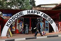 RWANDA, Kigali, downtown, Kiosque Happyness