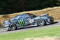 A 2011 Sauber F1 Drift Car, 2.7 litre supercharged V8, driven by Derek 'Buttsy' Butler during the hill climb at Goodwood Festival of Speed 2016 at Goodwood, Chichester, England on 24 June 2016. Photo by David Horn / PRiME Media Images