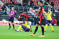 David Brooks of AFC Bournemouth rues his missed chance during AFC Bournemouth vs Huddersfield Town, Sky Bet EFL Championship Football at the Vitality Stadium on 12th December 2020
