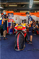 2nd October 2021; Austin, Texas, USA;  Pol Espargaro (44) - (SPA) pit before Free Practise 3 at the MotoGP Red Bull Grand Prix of the Americas held October 2, 2021 at the Circuit of the Americas in Austin, TX.