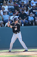 Kyle Nobach (24) of the Oregon State Beavers bats during a game against the UCLA Bruins at Jackie Robinson Stadium on April 4, 2015 in Los Angeles, California. UCLA defeated Oregon State, 10-5. (Larry Goren/Four Seam Images)