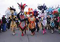 Zulu parade, Treme, 2015