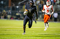Joshua Ficklin (1) of  Bentonville runs in the ball for touchdown in the first quarter at Tiger Stadium, Bentonville, Arkansas on Friday, November 20, 2020 / Special to NWA Democrat-Gazette/ David Beach