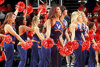 CHARLOTTESVILLE, VA- NOVEMBER 26:  The Virginia Cavaliers dance team performs during the game on November 26, 2011 at the John Paul Jones Arena in Charlottesville, Virginia. Virginia defeated Green Bay 68-42. (Photo by Andrew Shurtleff/Getty Images) *** Local Caption ***