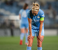 31st August 2021; Estadio Afredo Di Stefano, Madrid, Spain; Women's Champions League, Real Madrid CF versus Manchester City Football Club; Steph Houghton after the last minute Real Madrid goal