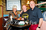 Enjoying the evening in Sean Og's on Thursday, l to r:  Mags and David Stubbins with Seamus Mahoney.