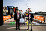 Bernard Thevenet ASO and Sebastien Msrtin ready to start Stage 4 of Paris-Nice 2021, running 187.5km from Chalon-sur-Saone to Chiroubles, France. 10th March 2021.<br /> Picture: ASO/Fabien Boukla | Cyclefile<br /> <br /> All photos usage must carry mandatory copyright credit (© Cyclefile | ASO/Fabien Boukla)