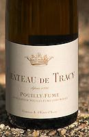 Pouilly Fume. Chateau de Tracy, Pouilly sur Loire, France