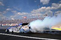 Jun. 2, 2013; Englishtown, NJ, USA: NHRA funny car driver Robert Hight during the Summer Nationals at Raceway Park. Mandatory Credit: Mark J. Rebilas-
