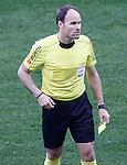 Spanish referee Antonio Miguel Mateu Lahoz during La Liga match. February 26,2017. (ALTERPHOTOS/Acero)