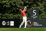 SHENZHEN, CHINA - OCTOBER 31:  Chang-Won Han of South Korea tees off on the 5th hole during the day three of Asian Amateur Championship at the Mission Hills Golf Club on October 31, 2009 in Shenzhen, Guangdong, China.  (Photo by Victor Fraile/The Power of Sport Images) *** Local Caption *** Chang-Won Han