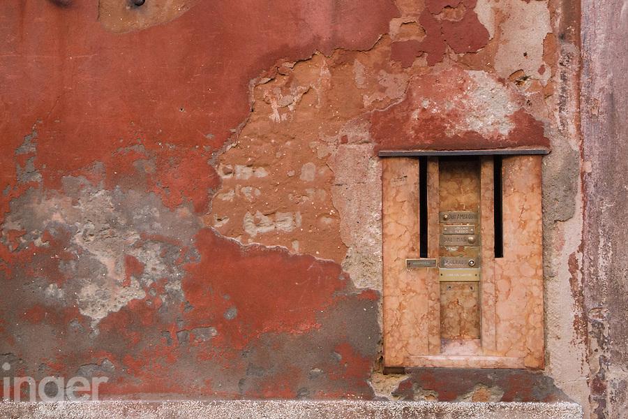 Building facades in Venice, Italy
