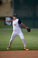 John Anderson during the WWBA World Championship at the Roger Dean Complex on October 20, 2018 in Jupiter, Florida.  John Anderson is a second baseman from Grayson, Georgia who attends Grayson High School and is committed to Georgia Tech.  (Mike Janes/Four Seam Images)