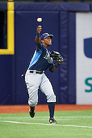 Tampa Bay Rays Ryan Caldwell (64) during an instructional league game against the Boston Red Sox on September 24, 2015 at Tropicana Field in St Petersburg, Florida.  (Mike Janes/Four Seam Images)