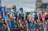 Oliver Naesen (BEL/AG2R-LaMondiale) & Greg Van Avermaet (BEL/BMC)<br /> <br /> Men Elite Road Race<br /> <br /> UCI 2017 Road World Championships - Bergen/Norway