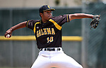 Galena's Jared Kiessling pitches against Centennial during NIAA DI baseball action at Bishop Manogue High School in Reno, Nev., on Thursday, May 19, 2016. Cathleen Allison/Las Vegas Review-Journal