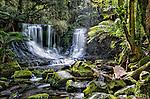 Horseshoe Fall in the Mt Field National Park in Tasmania, Australia.