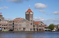 Nederland - Zaanstad Zaandam- 2021. De oude Verkade Fabriek. Tegenwoordig zijn in het gebouw diverse bedrijven gevestigd, zoals een bakkerij. Foto ANP / Hollandse Hoogte / Berlinda van Dam