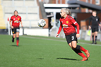 during the English Womens Championship match between Manchester United Women and Leicester City Women at Leigh Sports Village, Leigh, England on 10 March 2019. Photo by James Gill / PRiME Media Images.