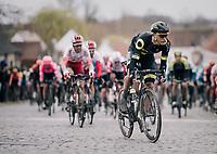 Niki Terpstra (NED/Direct Energie) charging up Nokereberg<br /> <br /> 71th Kuurne-Brussel-Kuurne 2019 <br /> Kuurne to Kuurne (BEL): 201km<br /> <br /> ©kramon