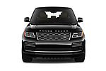 Car photography straight front view of a 2019 Land Rover Range Rover Autobiography 5 Door SUV