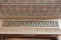 Afrique/Afrique du Nord/Maroc/Fèz: Dans la médina de Fèz-El-Bali restaurant Asmae -
